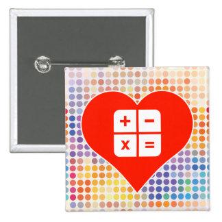 I Love Business 2 Inch Square Button