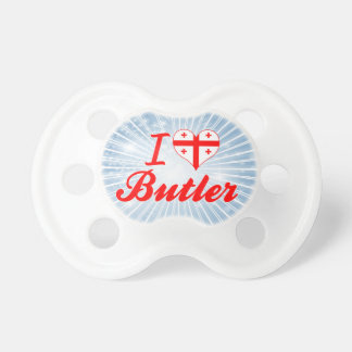 I Love Butler, Georgia Baby Pacifiers