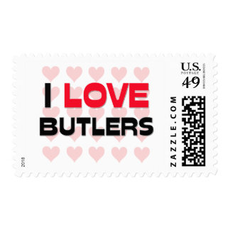 I LOVE BUTLERS STAMPS