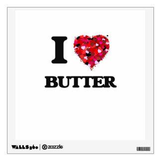 I Love Butter Wall Sticker