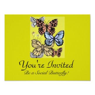 I love butterflies card