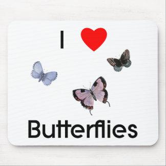 I love butterflies Mousepad