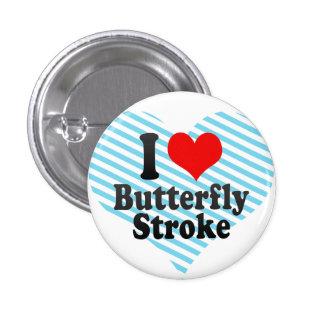 I love Butterfly Stroke Pin