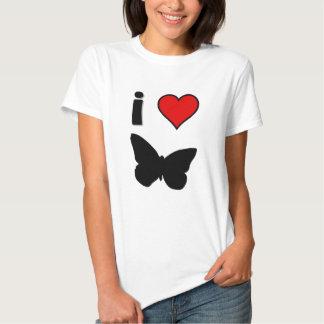 I love butterfly t shirt