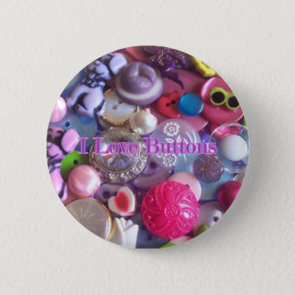 I Love buttons
