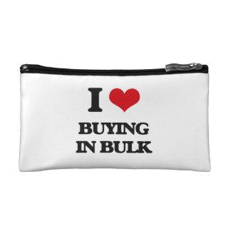 I Love Buying In Bulk Cosmetic Bags