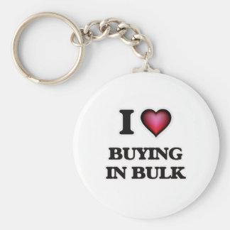 I Love Buying In Bulk Keychain