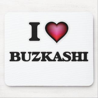 I Love Buzkashi Mouse Pad