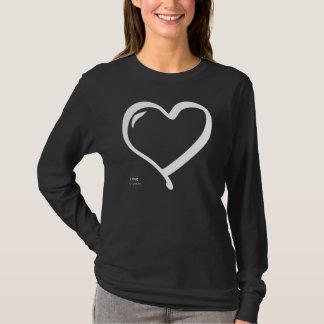 i love - by eat love pray t-shirt