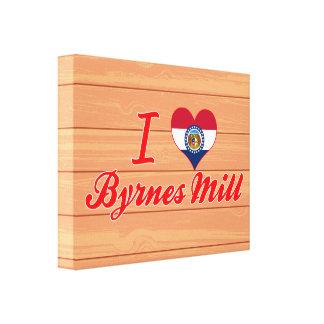 I Love Byrnes Mill, Missouri Canvas Prints