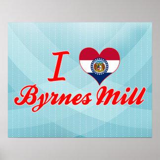 I Love Byrnes Mill, Missouri Print
