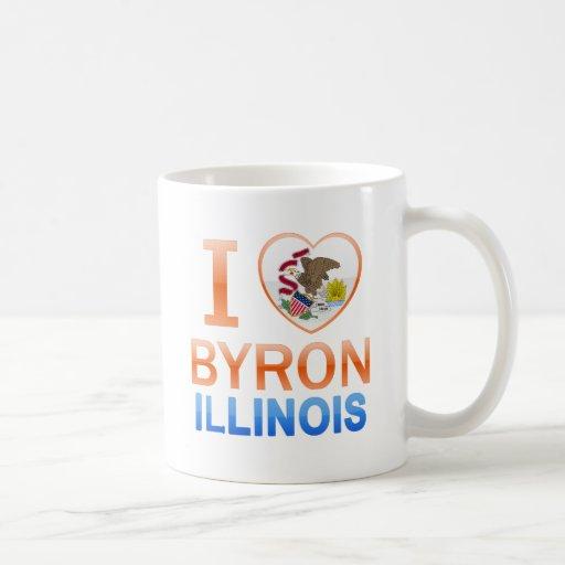 I Love Byron, IL Mugs