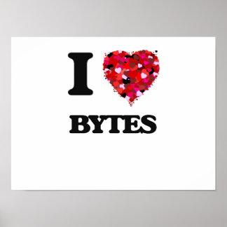 I Love Bytes Poster