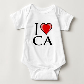 I Love CA - California Baby Bodysuit