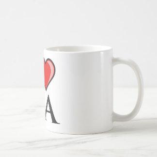 I Love CA - California Coffee Mug