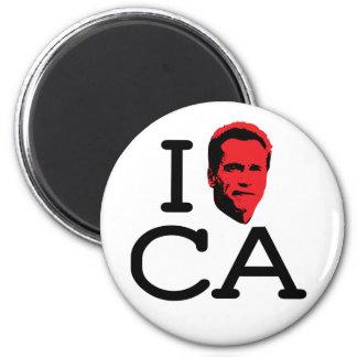 I Love CA - Gov - Magnet