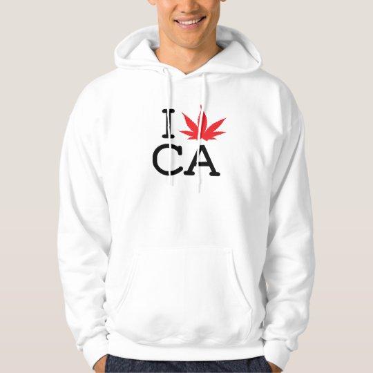 I Love CA - Leaf - Hoodie