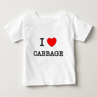 I Love CABBAGE ( food ) T Shirts