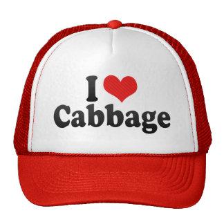 I Love Cabbage Trucker Hat