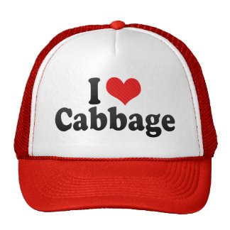 I Love Cabbage Hats