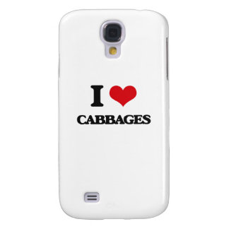 I love Cabbages Galaxy S4 Case