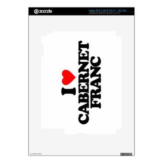 I LOVE CABERNET FRANC iPad 3 SKIN
