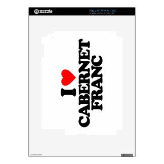 I LOVE CABERNET FRANC SKIN FOR THE iPad 2