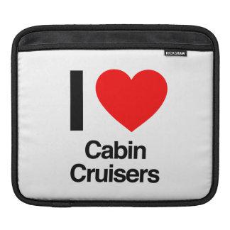 i love cabin cruisers iPad sleeve