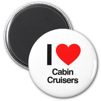 i love cabin cruisers fridge magnet