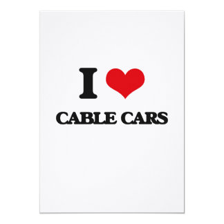 I love Cable Cars Card