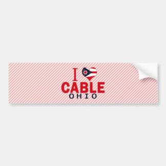 I love Cable, Ohio Bumper Sticker