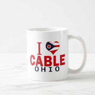 I love Cable, Ohio Coffee Mugs