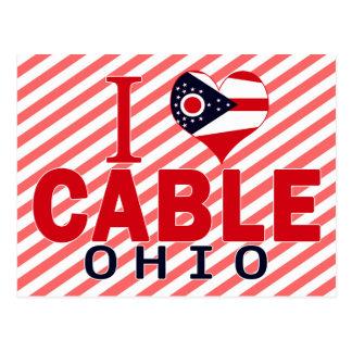 I love Cable, Ohio Postcards