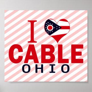 I love Cable, Ohio Poster
