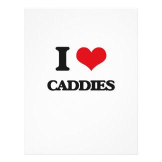 """I love Caddies 8.5"""" X 11"""" Flyer"""