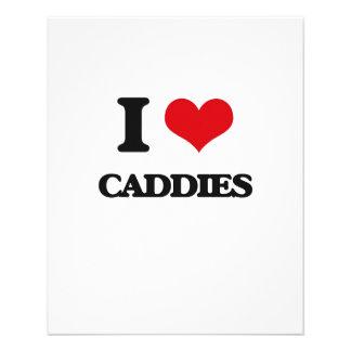 """I love Caddies 4.5"""" X 5.6"""" Flyer"""