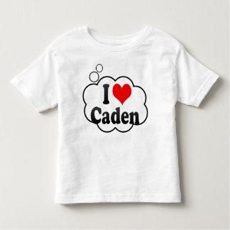 I love Caden Toddler T-shirt