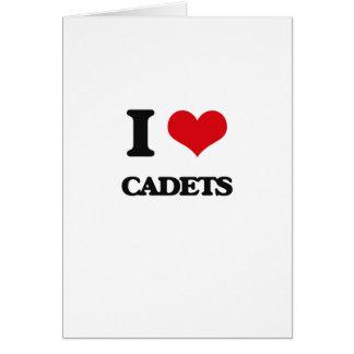 I love Cadets Greeting Card