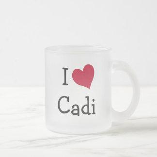 I Love Cadi Coffee Mug