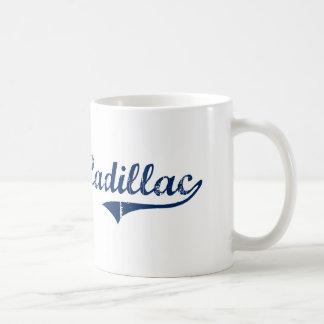 I Love Cadillac Michigan Coffee Mugs