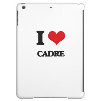 I love Cadre Cover For iPad Air