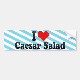 I Love Caesar Salad Bumper Sticker