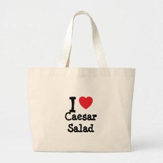 I love Caesar Salad heart T-Shirt Tote Bag