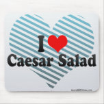 I Love Caesar Salad Mouse Pads