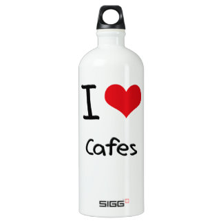 I love Cafes SIGG Traveler 1.0L Water Bottle