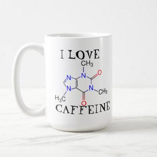 I love caffeine coffee mug