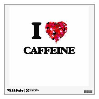 I love Caffeine Wall Sticker