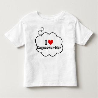 I Love Cagnes-sur-Mer, France Tshirt