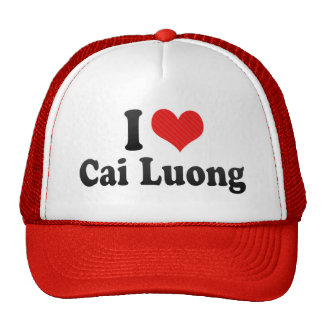 I Love Cai Luong Trucker Hat