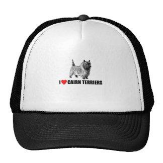 I Love Cairn Terriers Trucker Hat